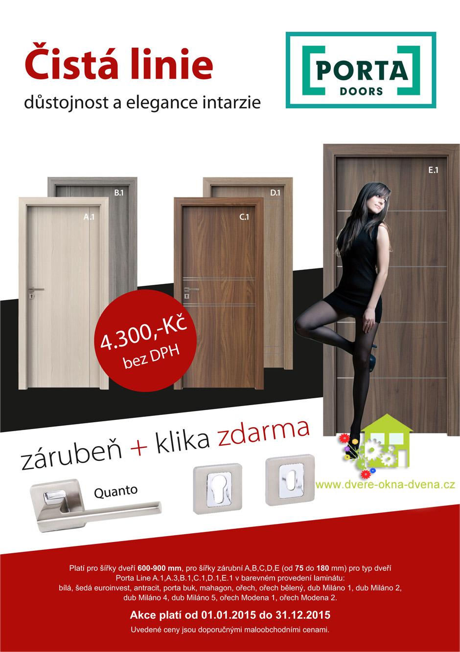 Adkce na dveře - Dveře-okna-Dvena Hradec Králové